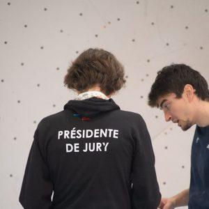 Président de Jury Escalade